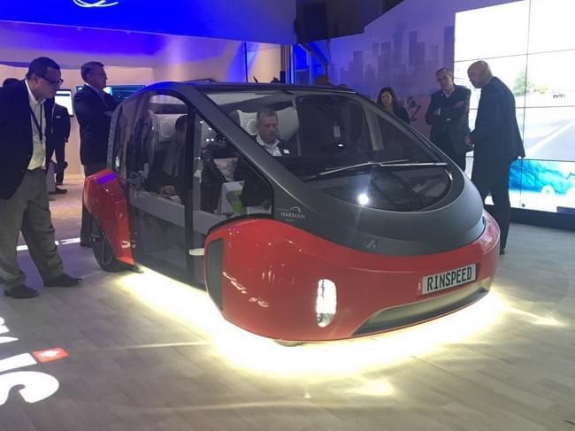 真自动驾驶 Rinspeed Oasis概念车发布