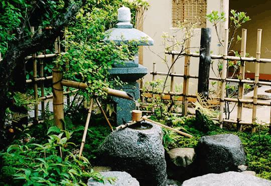 文化味儿十足:日本庭院中的艺术品茶庭