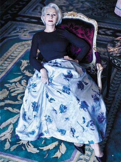 英国国宝级演员海伦-米伦拿奖无数 上舞台仍怯场