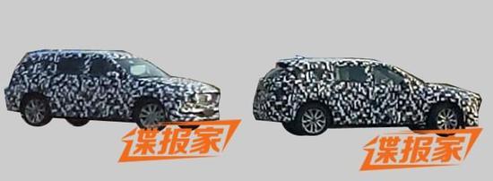 中型SUV 曝长安马自达CX-8国内路试谍照