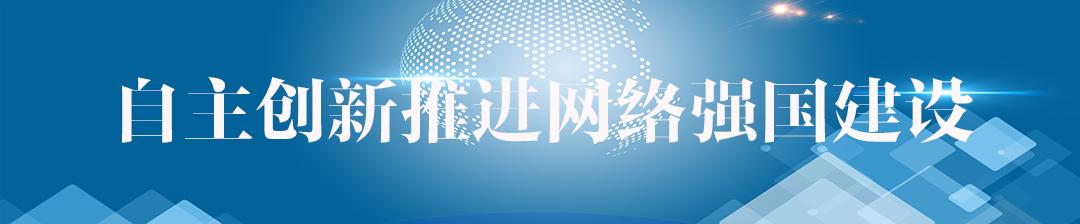自主创新推进网络强国建设