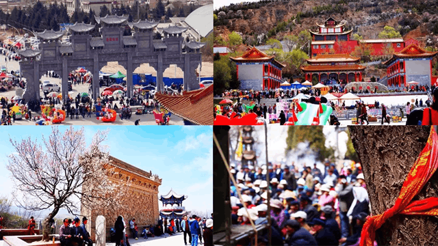 这场盛会已有上百年历史,整座东岳山都沸腾了!