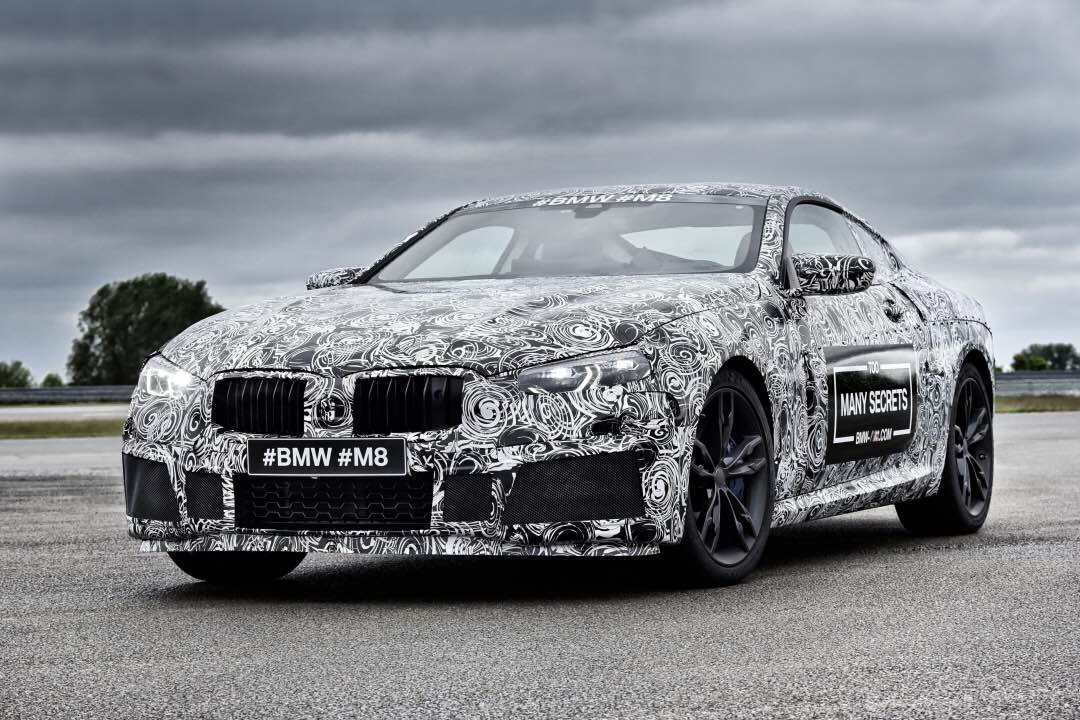 旗舰梦想的回归 BMW M8原型车谍照曝光
