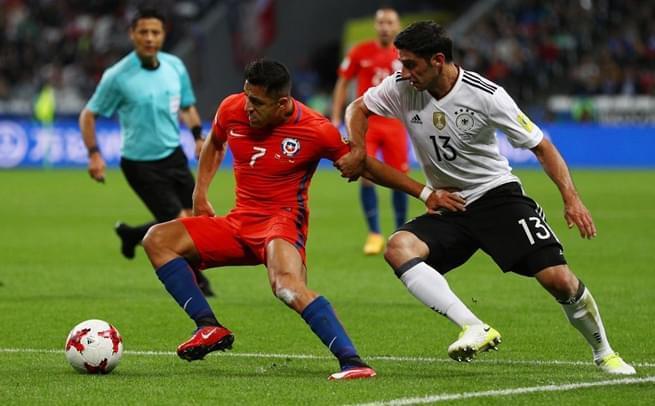 联合会杯:桑切斯破门 智利1-1德国