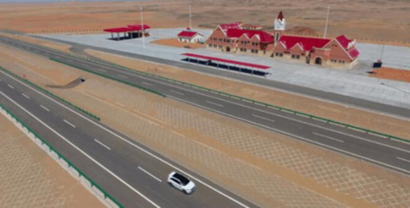 中国将建成世界最长沙漠高速 途经张家口