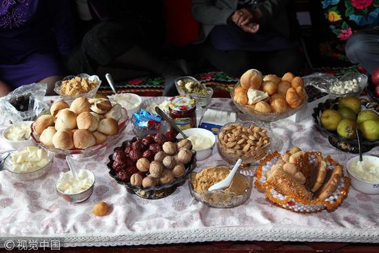2017年5月1日,新疆哈萨克族的美食.火车站附近美食齐齐哈尔图片