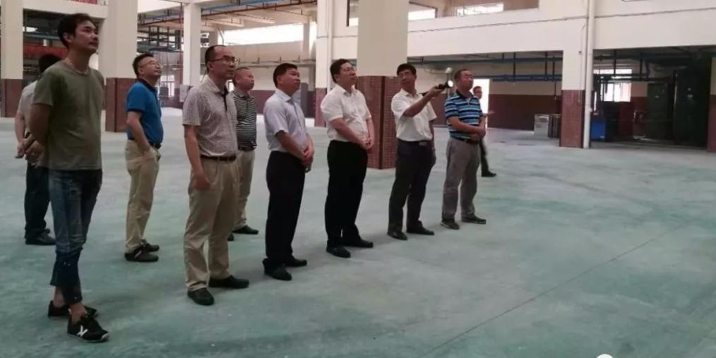 清远市委常委、组织部长张广宁一行视察两德合作区