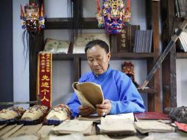 地戏传承人陈先松:传德与传艺同样重要