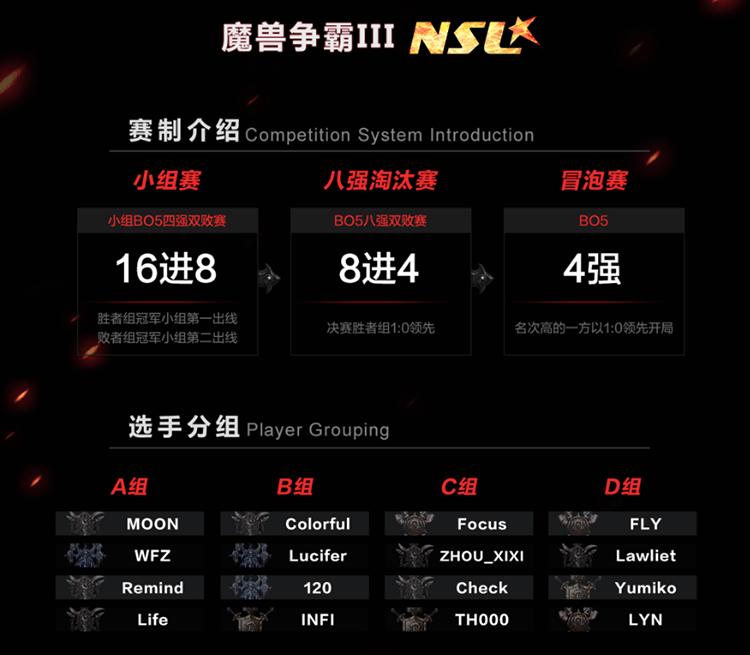 NSL2017再度启航 暴雪游戏竞技大狂欢