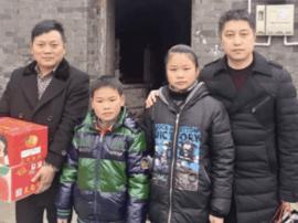 谢冬林:雪天探访懂事姐弟 帮助筹款5万余元