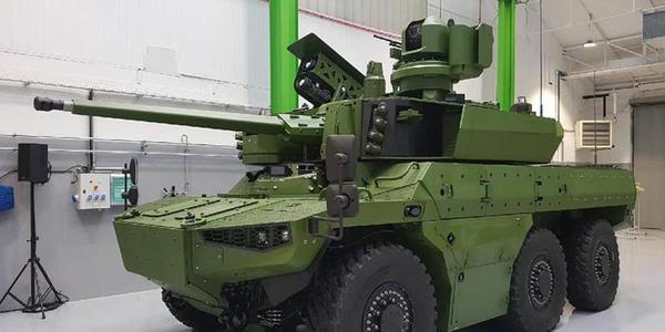 法国EBRC美洲豹装甲车原型首次公开展示