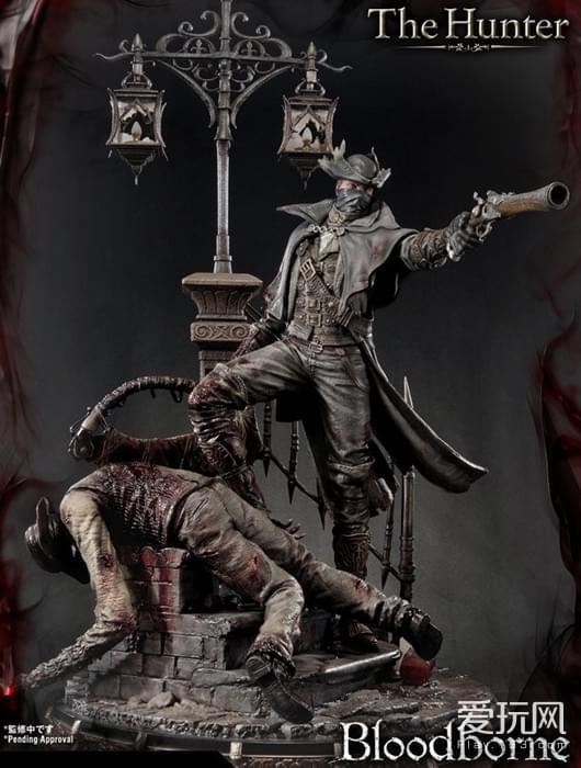 梦回雅南!《血源诅咒》猎人模型震撼登场