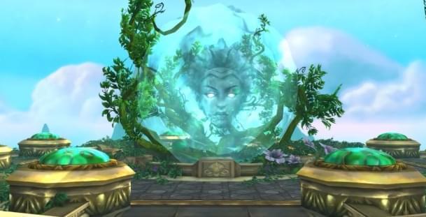 魔兽7.3新过场动画 万神殿破灭 阿格拉玛崛起