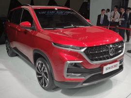 2017上海车展:广州车展宝骏再推全新紧凑SUV 560终成废弃品