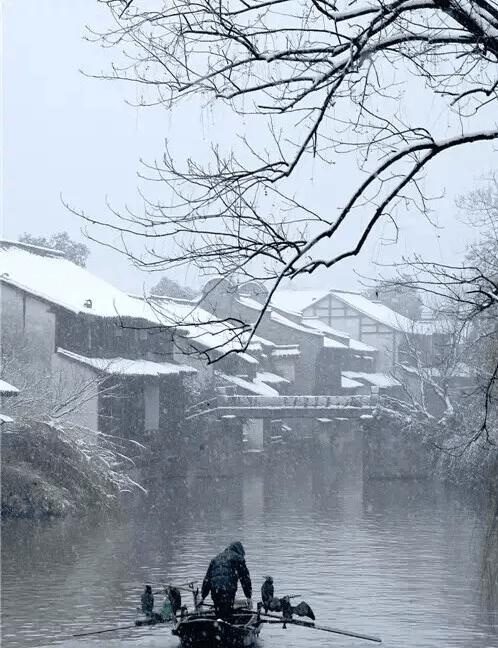 一下雪 这些中国古镇就美成了人间天堂
