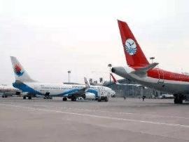 2017年邯郸机场完成旅客吞吐量68.4万人次