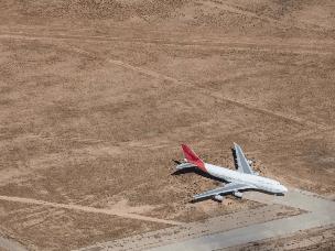 飞机墓地:一架飞机最后的归宿