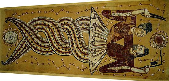 ?女娲和伏羲手持圆规和标尺/Wikimedia