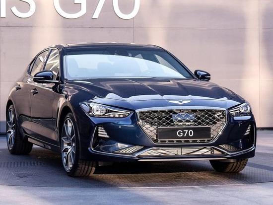 对标宝马3系 现代Genesis G70正式发布