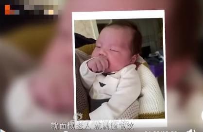 嗯哼婴儿照曝光 杜江称儿子出生时不好看差强人意