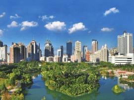 """福州""""免检""""获国家森林城市称号 森林覆盖率56%"""