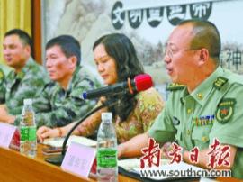"""佛冈征兵宣传:特战队员进校园""""共话中国梦"""""""