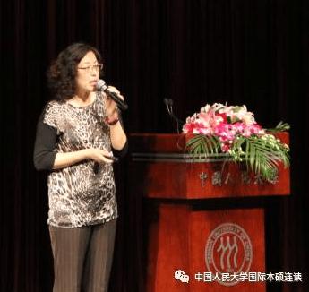 教育部中国留学服务中心项目拓展部负责人贾颖女士