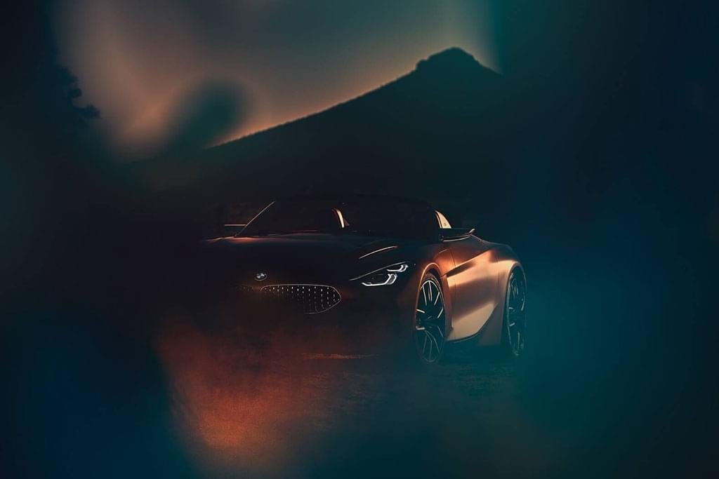 预告图发布 宝马Z4概念车将于8月17日首发