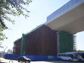 """仙台大街""""断头桥""""续建工程年底前续建至世荣路段"""