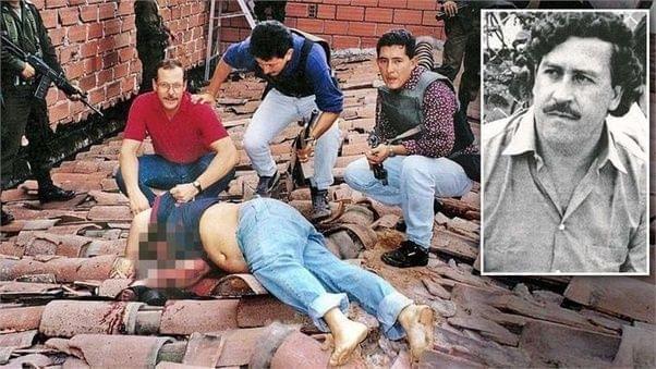 埃斯科巴1993年被军方击毙