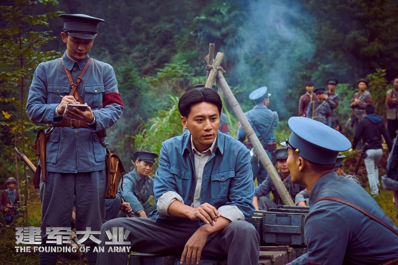 《建军大业》刘烨时隔六年再演毛泽东