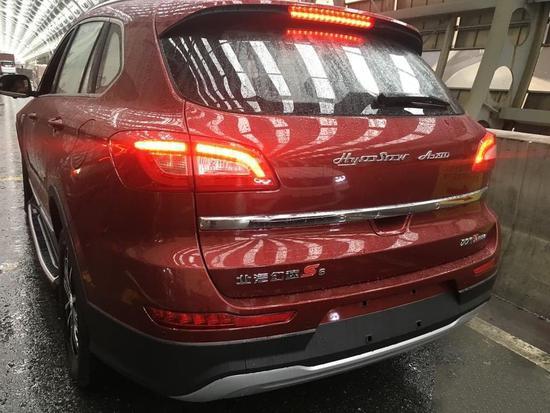 前脸升级/换英文LOGO 幻速S6X实车曝光