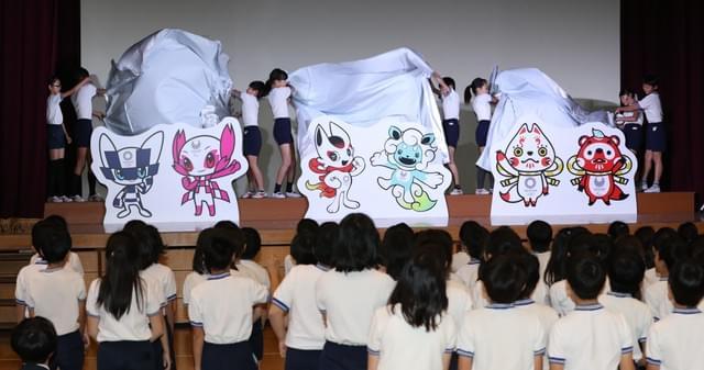东京奥运会吉祥物 小学生投票决定