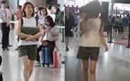 陈赫前妻被偷拍用包挡脸