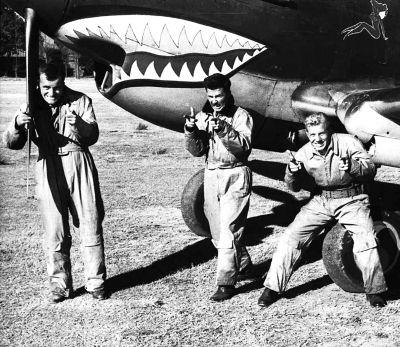 飞虎队的第一场空战