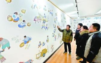 辛集七旬画家将农民画推向世界