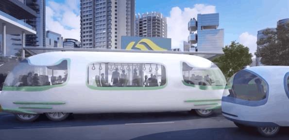 美国首辆无人驾驶巴士上路首日出了车祸:不管无人驾驶的事儿,又是人为因素