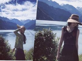 浙江美女游新疆为全国网友写旅游攻略 感叹新疆景色太美丽