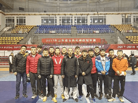 青岛市体校2017年山东省古典式摔跤冠军赛获佳绩