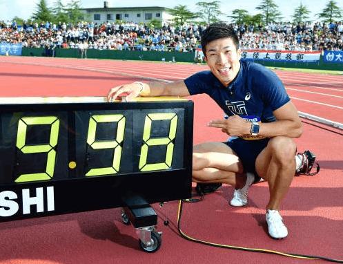 9秒98!桐生祥秀超越苏炳添0.01 日本百米终破10