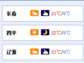 吉林省大部地区温差10℃以上 早晚渐凉需防感冒