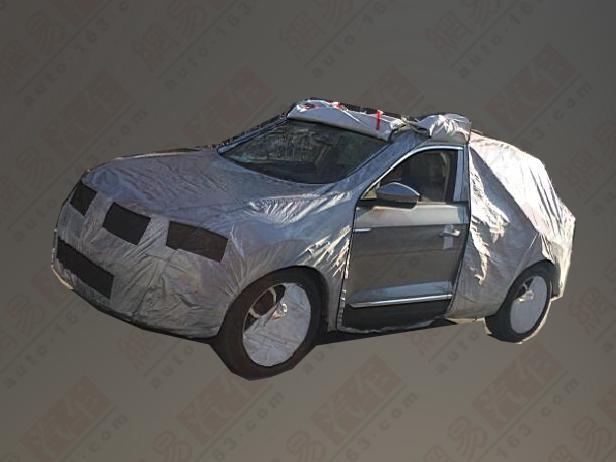 7月上市 一汽-大众T-ROC量产路试车曝光