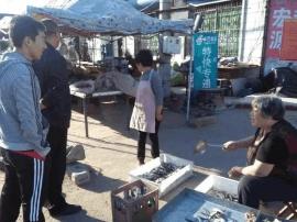 """乐亭县庞各庄乡全力规范农村乡址""""马路""""市场"""