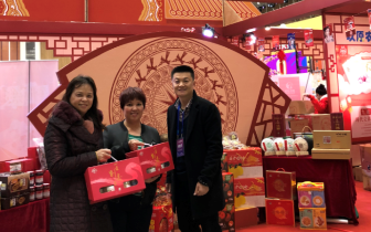 桂林市电商企业参加2018广西电商年货节收获满满