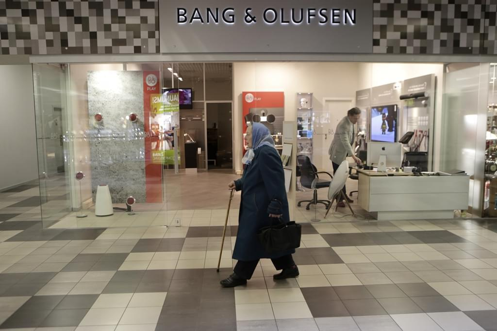 创立于1925年的丹麦顶级试听品牌Bang & Olufsen。/REUTERS