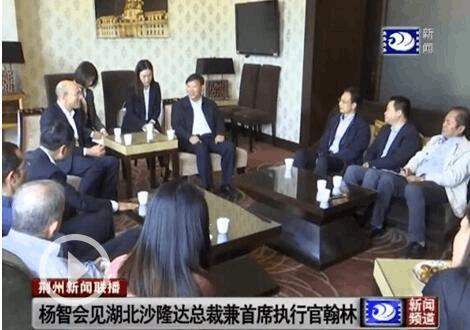 杨智崔永辉会见沙隆达公司总裁兼首席执行官翰林