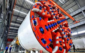 中国制造超大直径盾构机将出口海外,终结欧美垄断