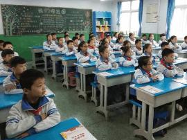 """邯郸一小学举行""""童心向党 传唱童谣""""主题活动"""