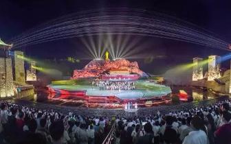 韶山实景演出《中国出了个毛泽东》3月20日复演