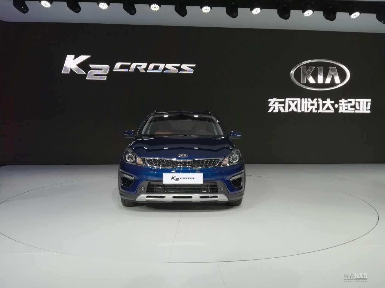 2017上海车展:起亚K2 CROSS首发亮相
